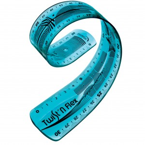 Rigla 30 cm Maped Twist'n Flex M027900