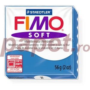 Lut polimeric Fimo Soft pentru modelaj 8020-Pacific blue