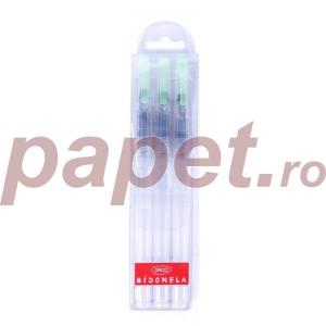 Pensule Daco rotunde 3/set cu rezervor PN603R