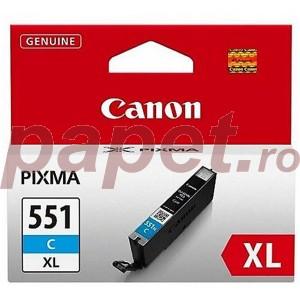 Cartus cyan Canon CLI-551XLC 11ML ORIGINAL PIXMA IP7250