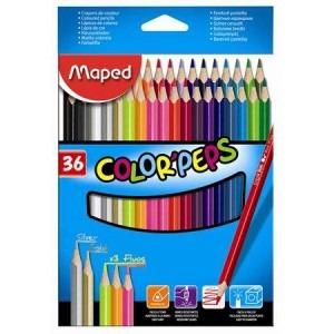 Creioane colorate Maped 36 culori / set M832017