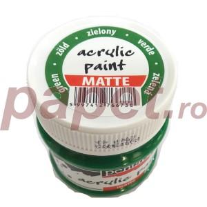 Culoare acrilica mata 50ML Green P1901/3