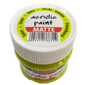 Culoare acrilica mata 50ML Lime Green P1901/1