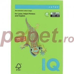 Hartie IQ A4 160g/mp verde primavera MA42/160