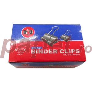 Binder metalic 25MM 12/cutie 40710010