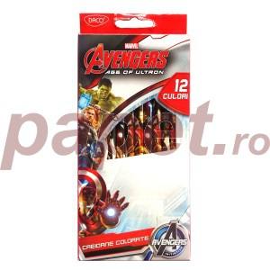 Creioane colorate avengers age of ultron Daco 12 culori 8732