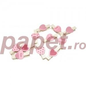 Clips notite mic din lemn decorativ ES6-11