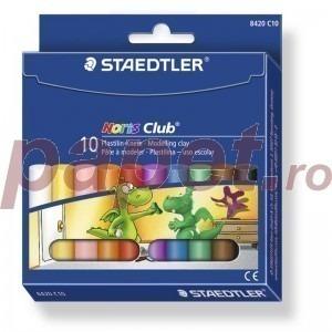Plastilina 10 culori / set Staedtler ST8420C10