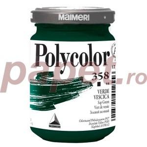 Culoare acrilica Maimeri polycolor 140 ml sap green 1220358