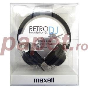 Casti Maxell digital stereo retro dj 303516