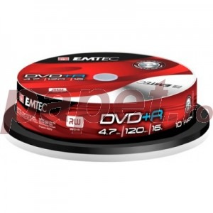 DVD+R EMTEC 4.7GB 16X 10/BOX EMT20004