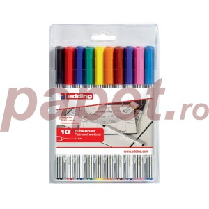 Set fineliner Edding 89 10buc/set ED000007