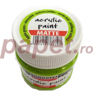 Culoare acrilica mata 50ML Apple Green P1017/1