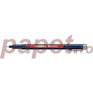 Fineliner Edding 1800 0.5mm negru ED180051