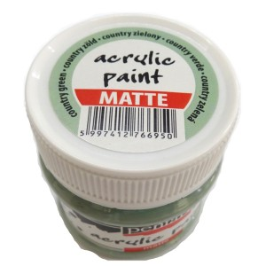 Culoare acrilica mata 50ML Country Green P110/2
