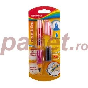 Stilou Fountain Pen cu doua rezerve KR971233
