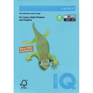 Hartie IQ A4 80g (aqua blue) AB48/80