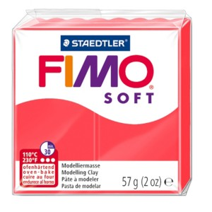 Lut polimeric Fimo Soft pentru modelaj 8020-Flamant