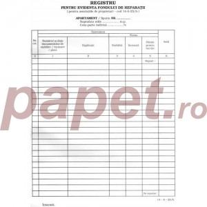 Registru pentru evidenta fondului de reparatii 1173