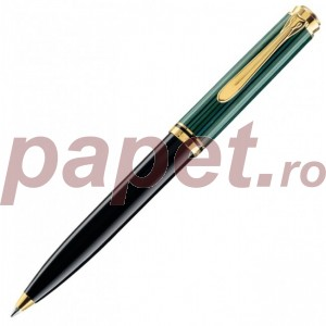 Pix Pelikan Souveran K800 mina de tip parker si corp negru cu verde 987834