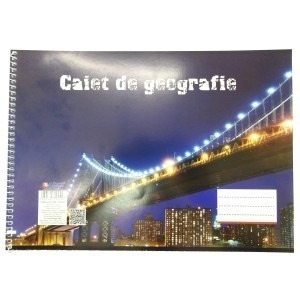Caiet geografie Arhi A4 spiralat 32file 4841