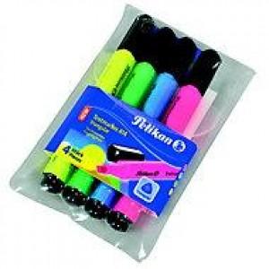 Set textmarker evidentiator Pelikan 4 culori E1229