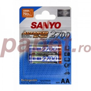Acumulator Sanyo Advanced Ni-mh-aa (R6) 2700ma 471