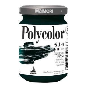 Culoare acrilica Maimeri polycolor 140 ml payne's grey 1220514