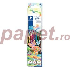Creioane colorate Staedtler Noris 6/set ST-187-C6