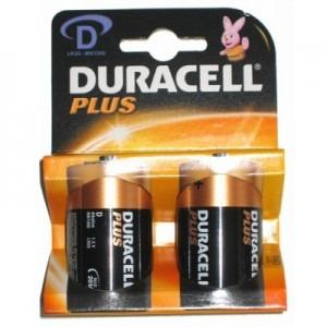 Baterie Duracell Improv Basic D 75015738