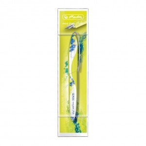 Stilou Herlitz penita M Color Splash lemon / albastru My.Pen Style 50003198