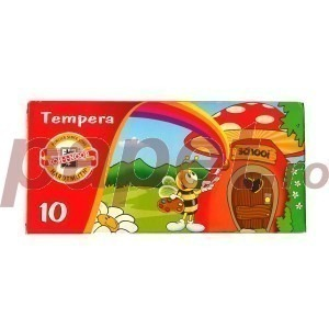 Tempera 10 culori set Koh-I-Noor 10ML K162S10