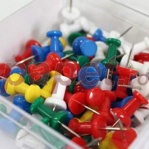 Pioneze panou pluta color 50 bucati / cutie 50441200