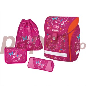 Ghiozdan echipat Herlitz Midi Plus Butterflay 50007837