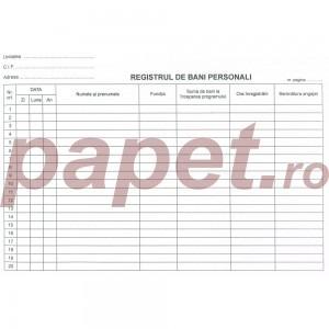 Registru de bani personali 8561