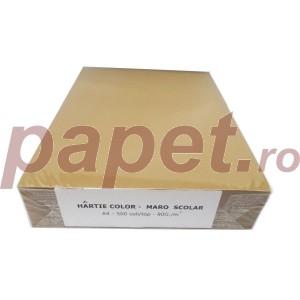 Hartie A4 colorata Daco 80g/mp 500 coli/top maro 5008