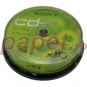 Cd-r Sony 48x 10/bulk E1660