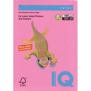 Hartie IQ A4 160g (pink) PI25/160