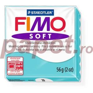 Lut polimeric Fimo Soft pentru modelaj 8020-Peppermint