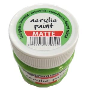 Culoare acrilica mata 50ML Mojito Green P10825