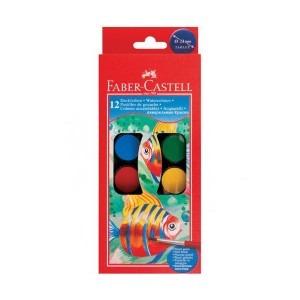 Acuarele Faber Castell 12 culori 4391