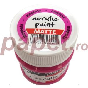 Culoare acrilica mata 50ML Magenta P2349