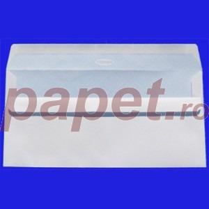 Plic DL 80g alb fereastra siliconic dreapta E812.D