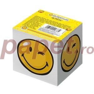 Bloc pentru notite Herlitz Smiley 8 x 8 x 7 cm 11245297