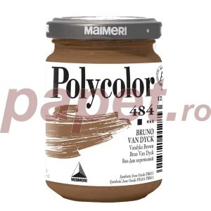 Culoare acrilica Maimeri polycolor 140 ml vandyke brown 1220484