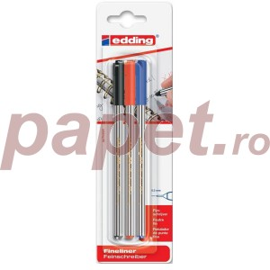 Set fineliner Edding 89 3buc/set ED893000