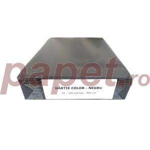 Carton A4 color 80g/mp negru 4845