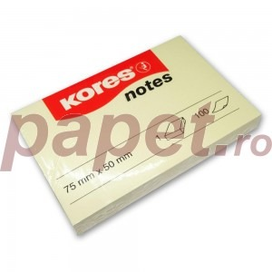 Notes adeziv 75x50mm Kores KO46057