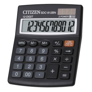 Calculator Citizen de birou cu 12 digiti SDC812BN