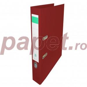 Biblioraft plastifiat Papet 5cm grena 7468